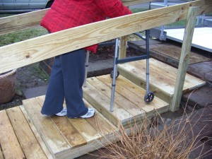 Types of wheelchair ramps detroit ramp for Handicap stairs plans