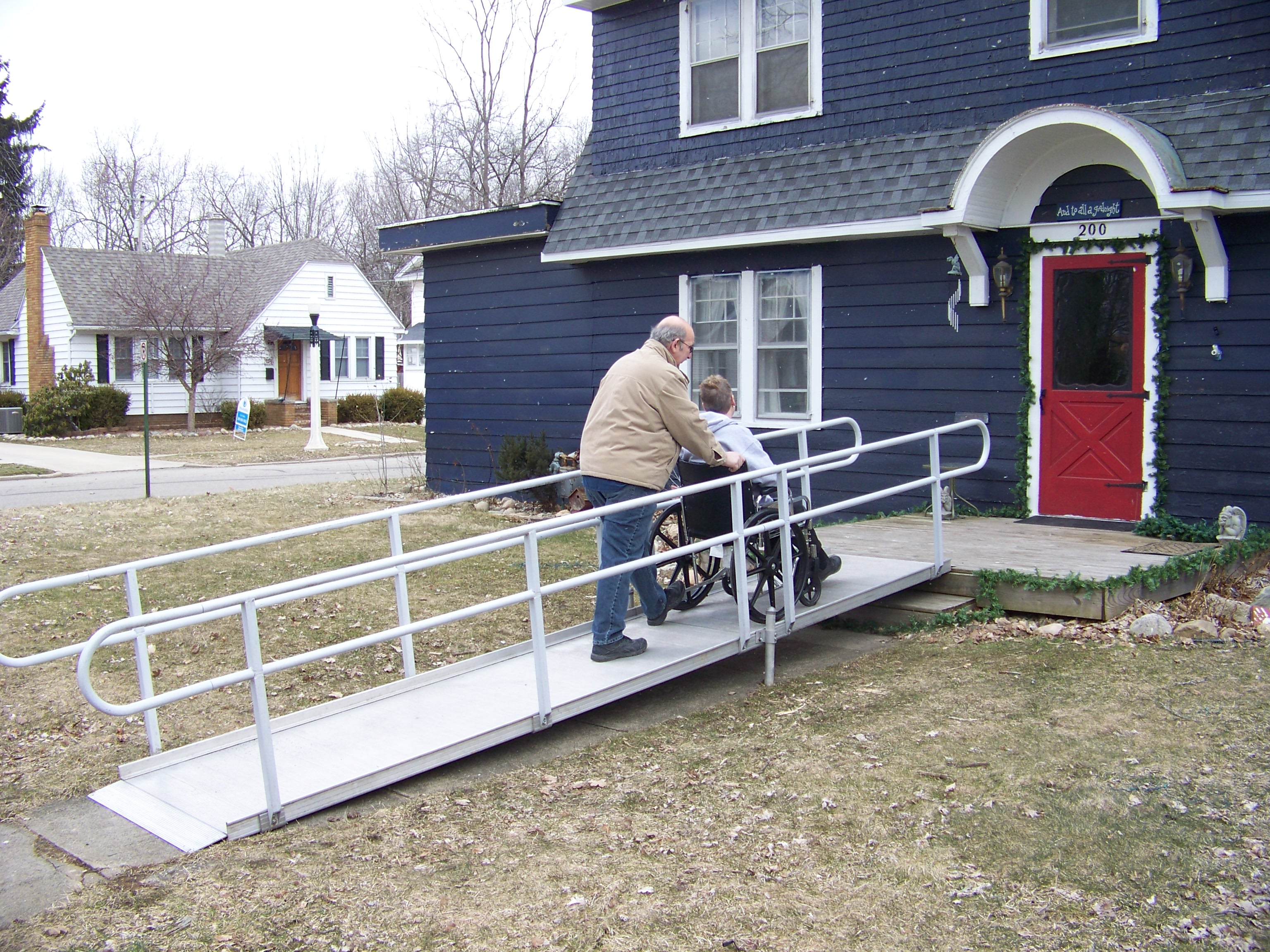 a safe slope for a wheel chair ramp detroit ramp
